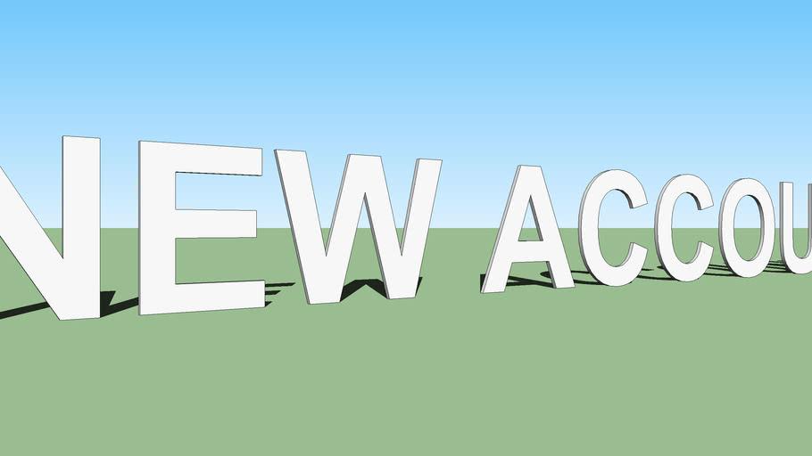 NEW ACCOUNT