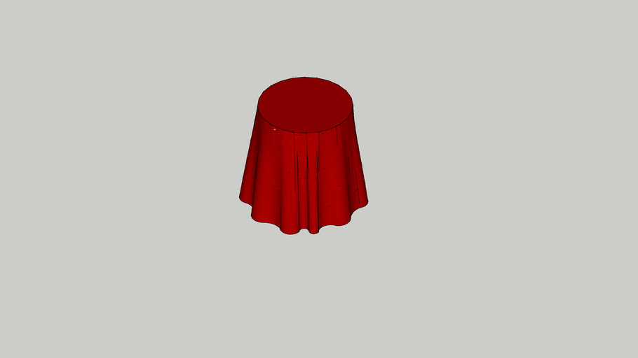 ROUND_36IN_HIGH_TCLOTH_RED