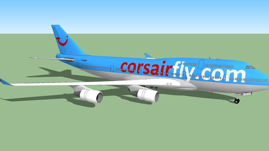 Corsairfly Boeing 747-400