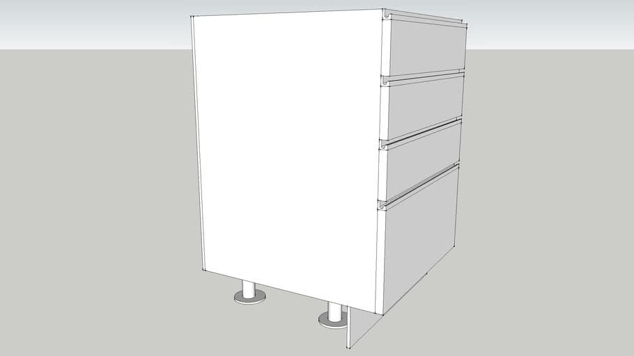 4 Drawers Base unit
