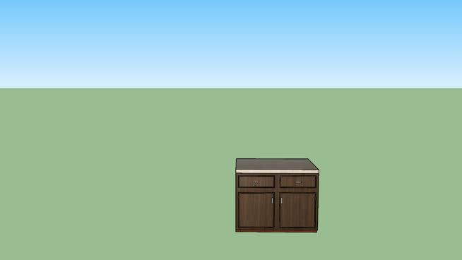 recolored cabinet