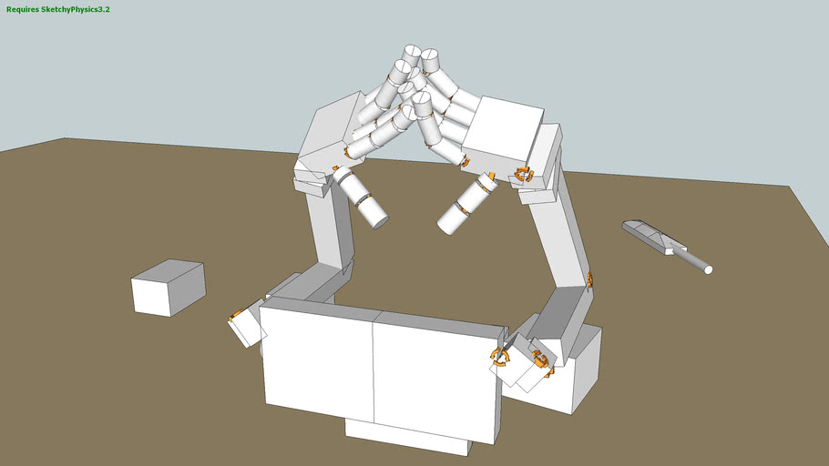 Robotic Arms and Hands - Sketchy