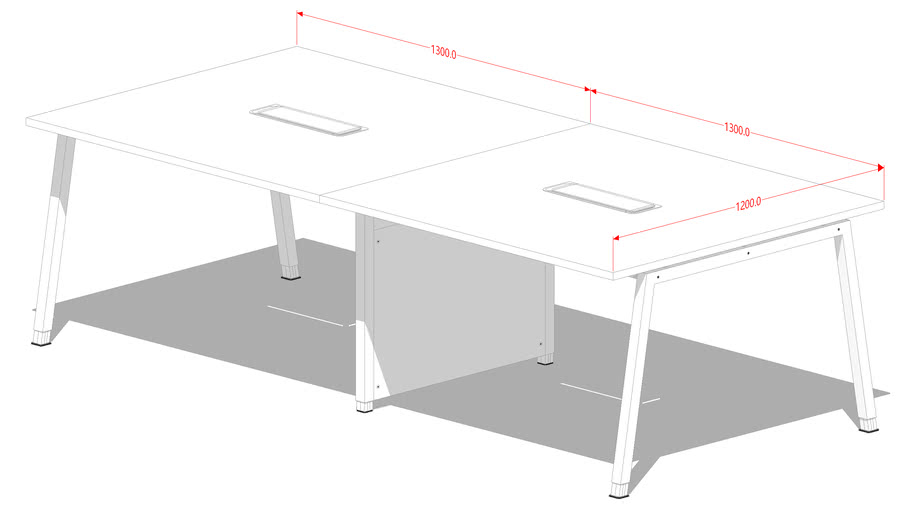 A-leg Meeting table