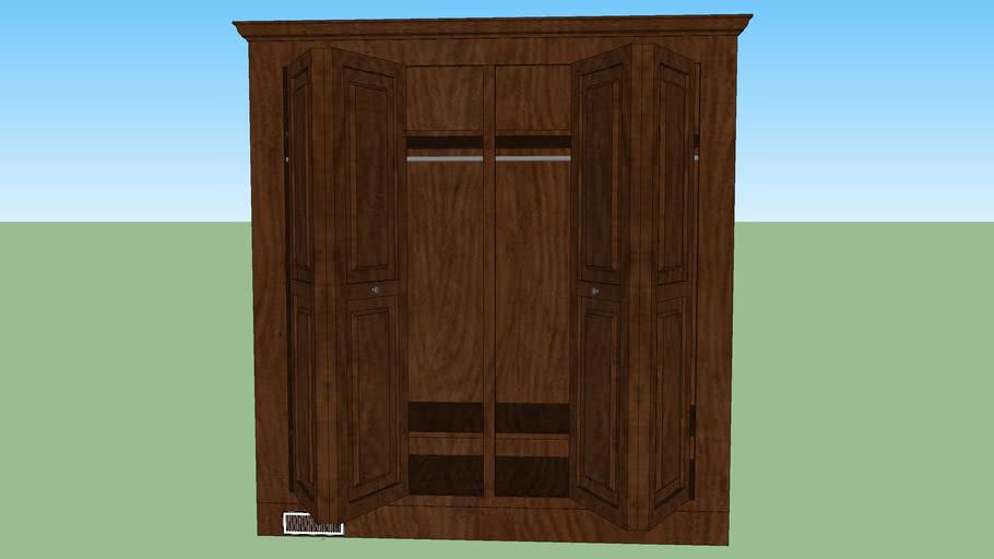 Bi-Fold Stand-alone closet