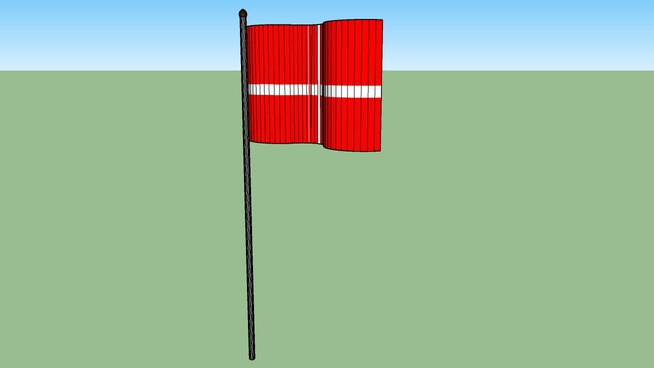 Danish Flag ( Dannebrog )