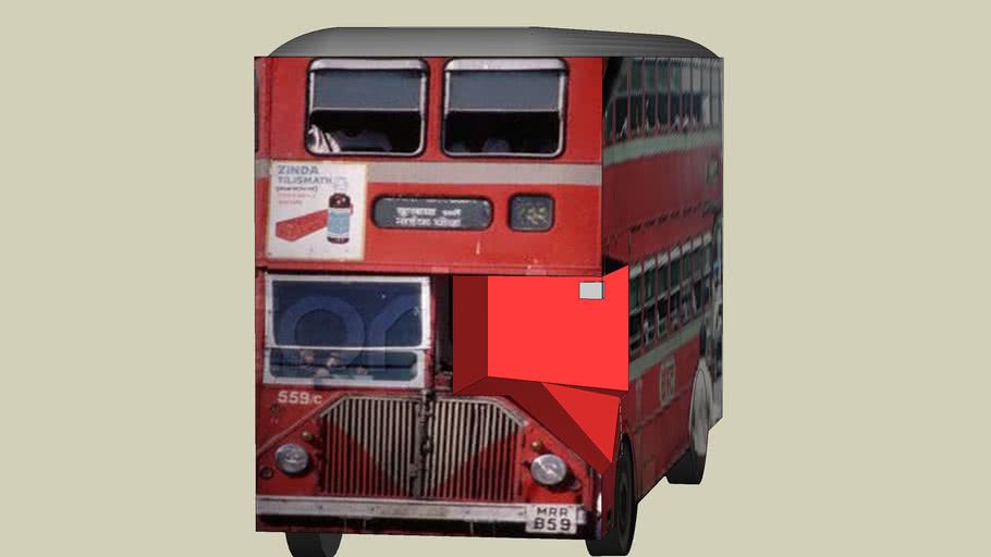 mumbai double deckar buses also known as best buses