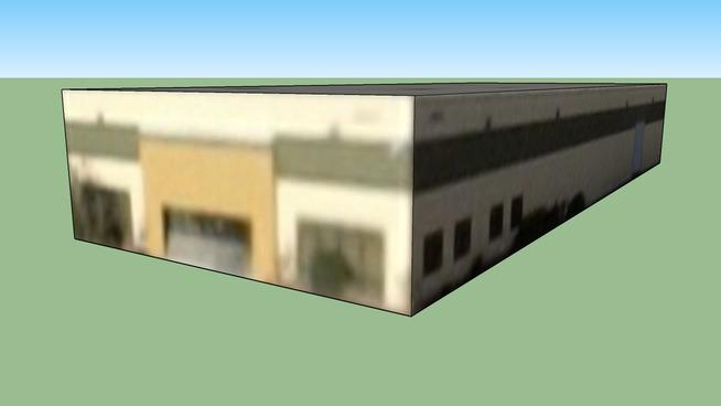 拉斯韦加斯, 内华达, 美国的建筑模型