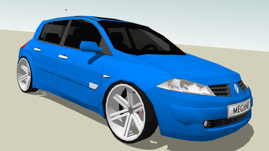 Modified Renault Megane