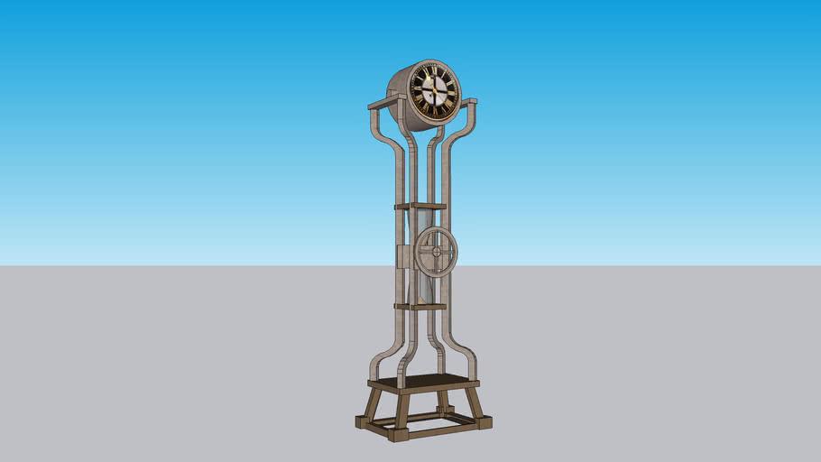 Howard Miller Hourglass Grandfather clock