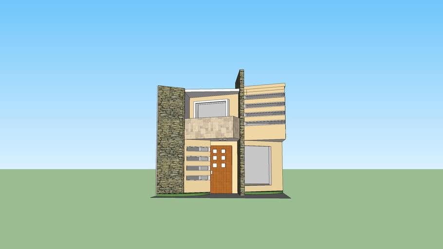 casa minimalista inq