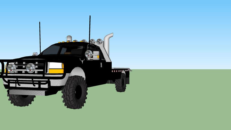 Blackout Ford Flatbed EDIT