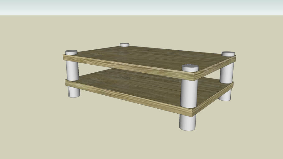 Stereo table tv stand