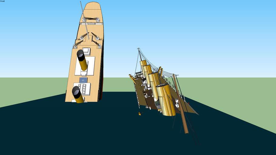 RMS TITANIC & HMHS BRITANNIC: leur naufrage