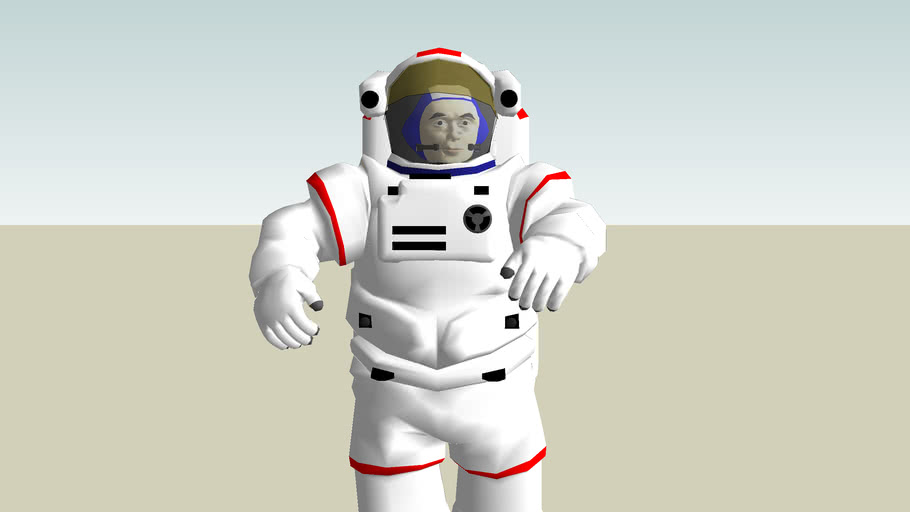 3D Astronaut Nr 1