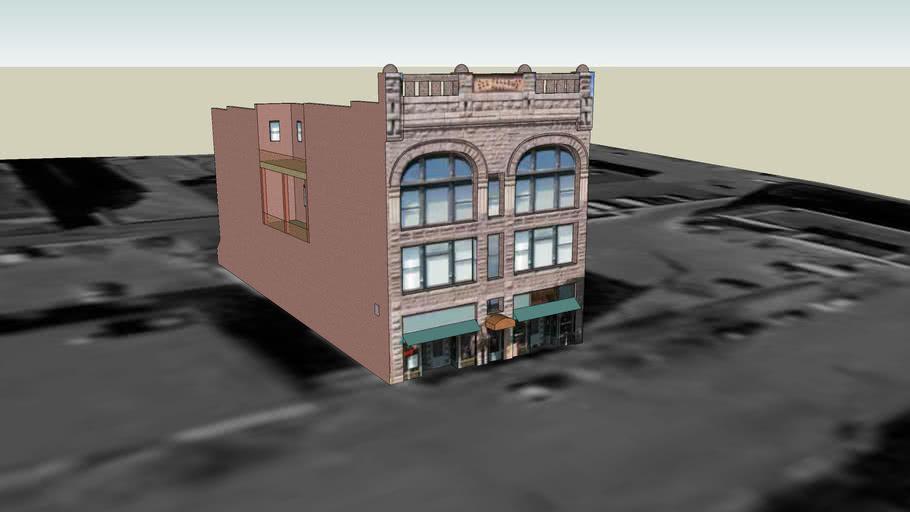 Building on Main Avenue