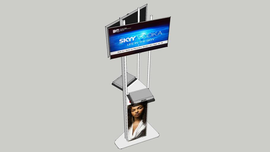 DSTV DISPLAY STAND