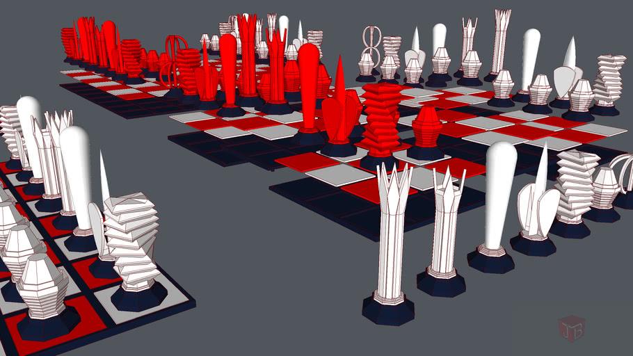 3d print chess pieces