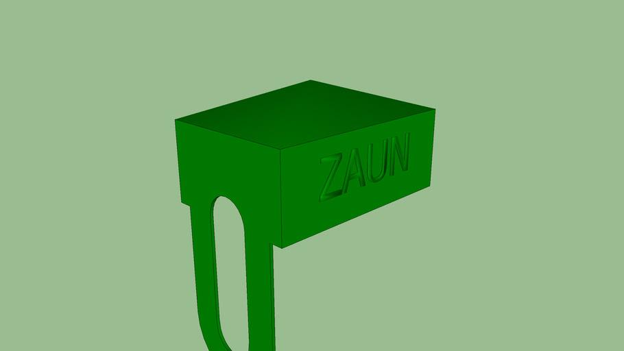 Zaun 60mm x 40mm TopCap Post Perimeter or Sports