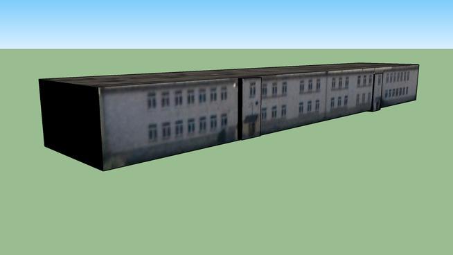 Budynek przy Polska