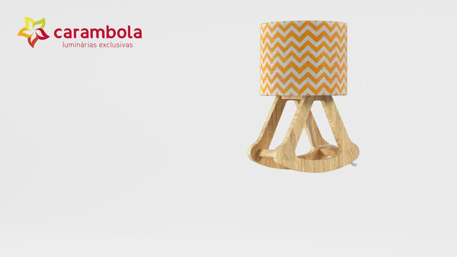 Luminária Balanço Laranja | Carambola Luminárias