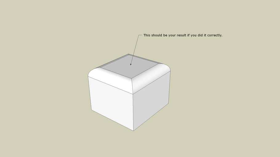 Box with rounded edges