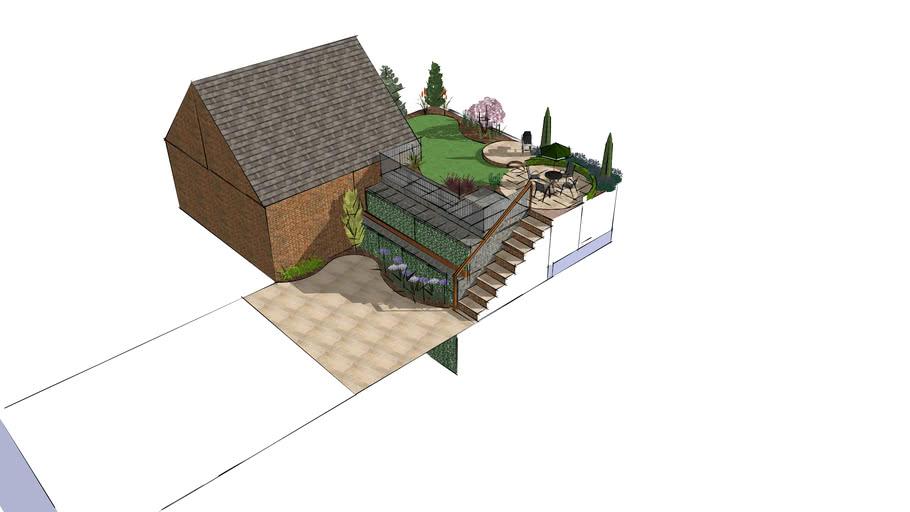 Plot 154 (harringtons) Garden Design