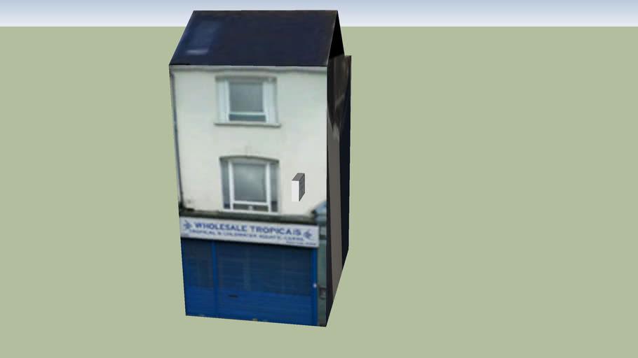 Building in Bethnal Green, London, UK