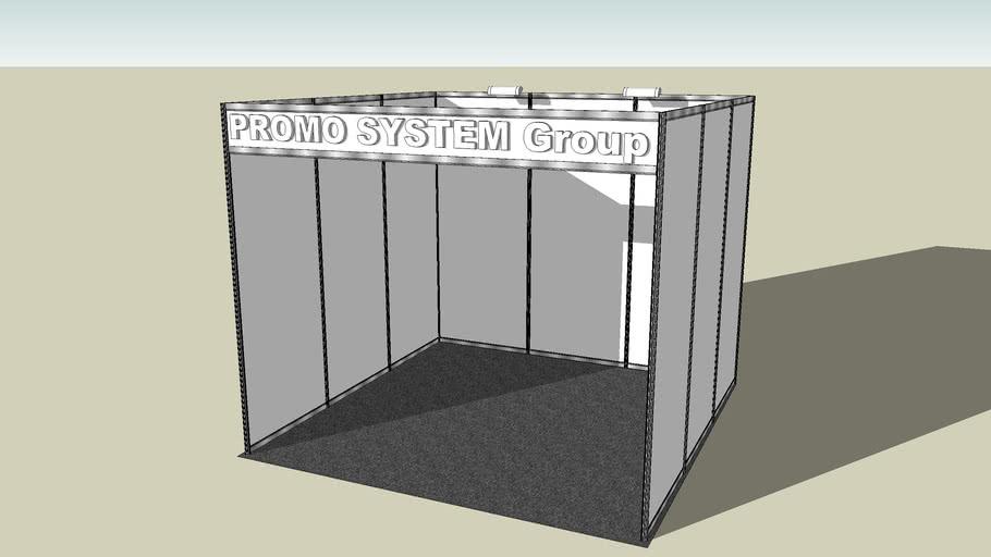Octanorm box 9m2