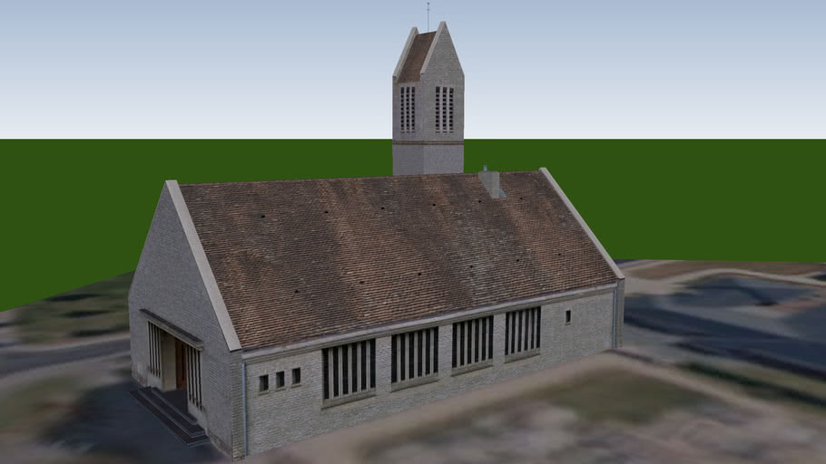 Eglise de Bréville-les-Monts