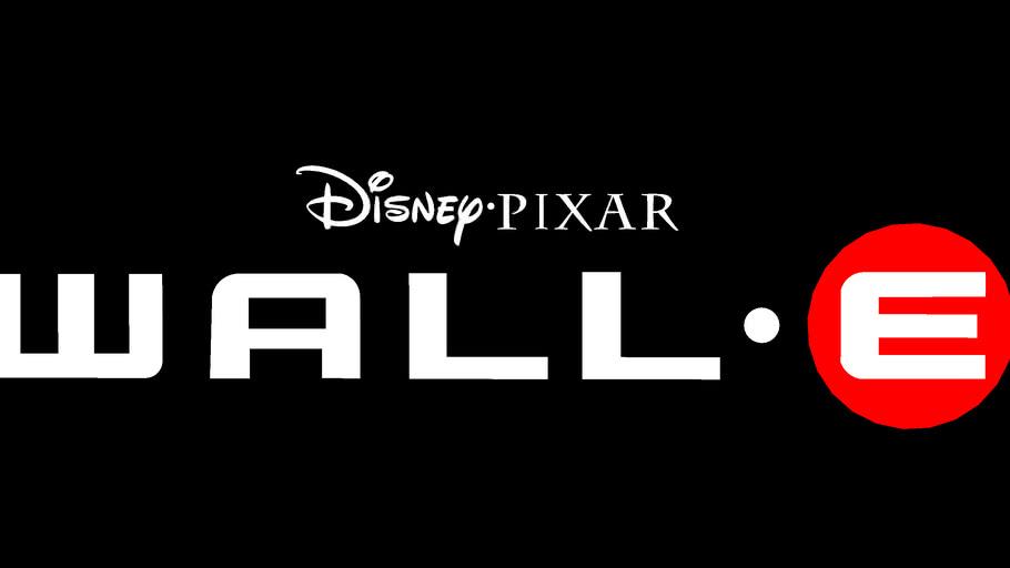 Disney presents A PIXAR Film WALL.E Logo