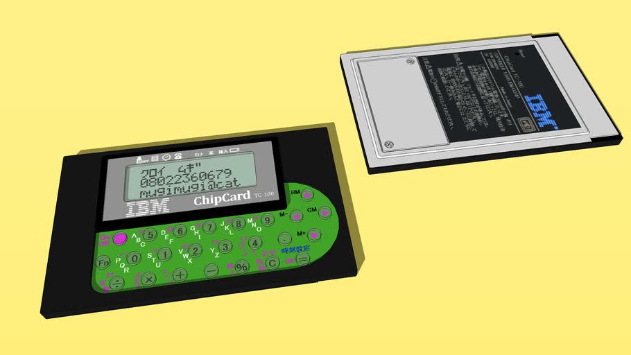 IBM ChipCard TC-100(1995:Japan)