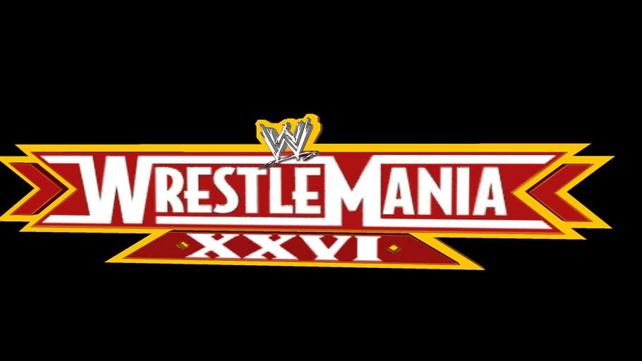 WWE Wrestlemania XXVI logo