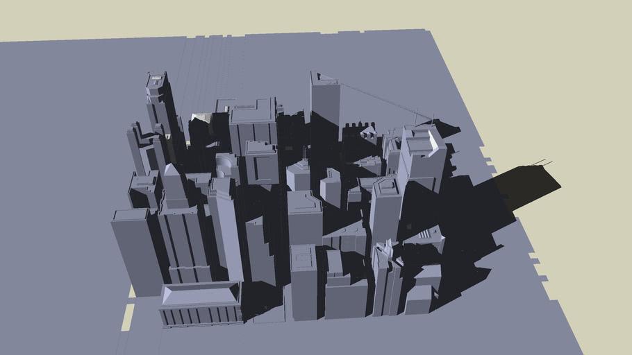 una ciudad inacabada