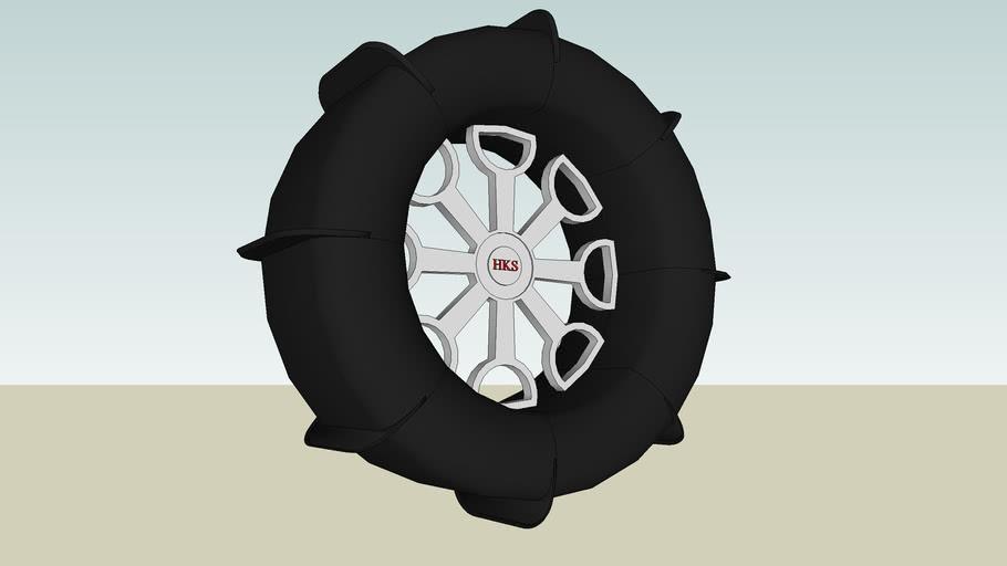 Dune Wheel