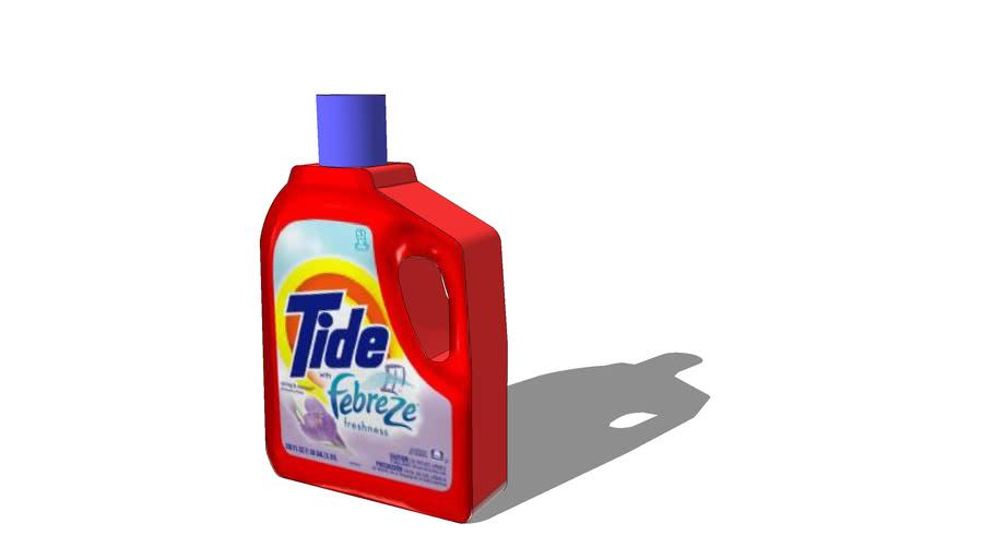 Tide Detergent Bottle