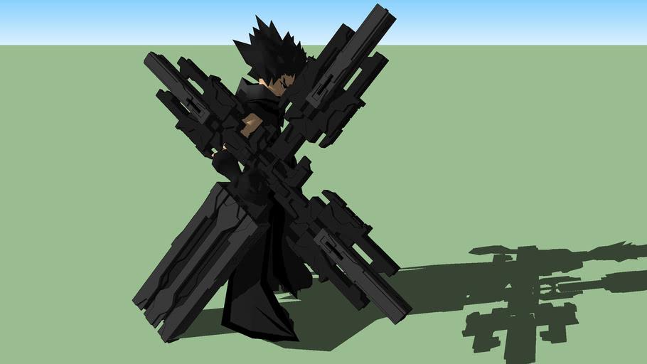 anime model DARK CROSS SHOOTER