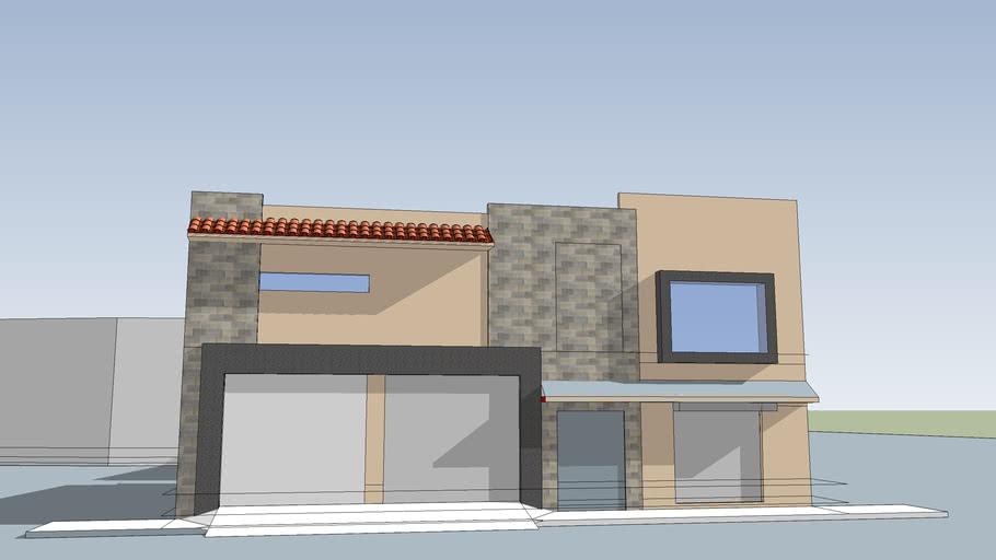 DZ_fachada de Casa
