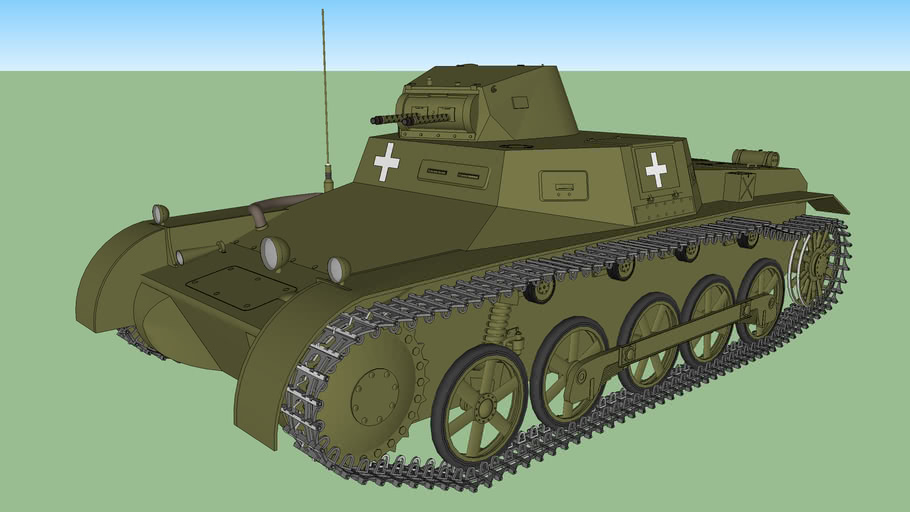 Panzer I - Panzerkampfwagen I Ausf B (German Tank)