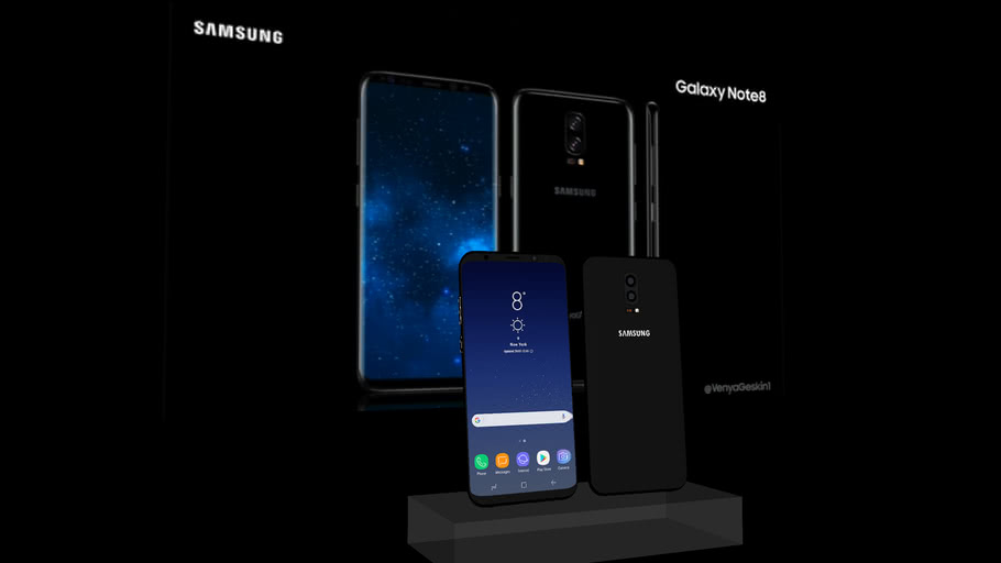2017 Note 8 Concept