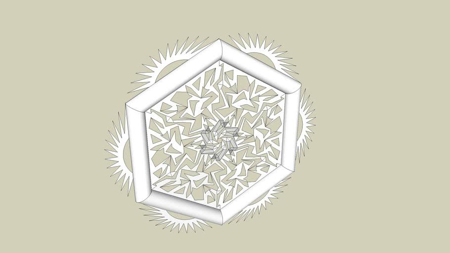 Random Hexagonal Piece