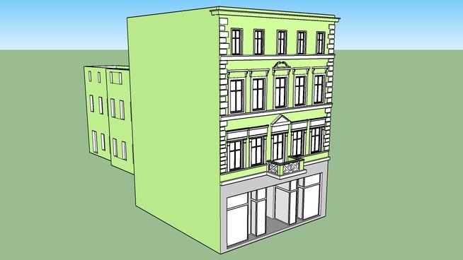 TENEMENT HOUSE ON 13 GDANSKA STREET IN BYDGOSZCZ