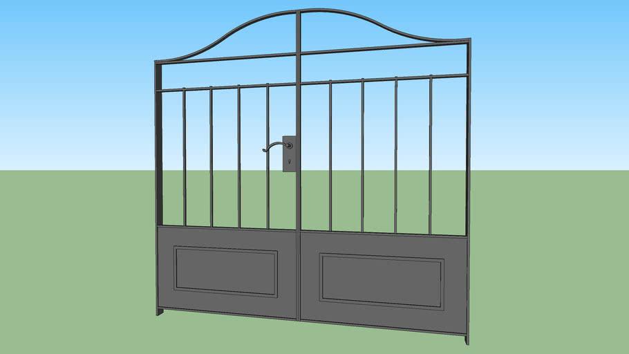 Classic Metal Gate