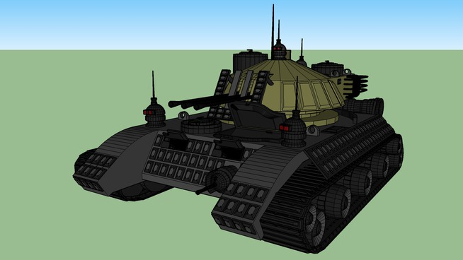 Heavy assault tank