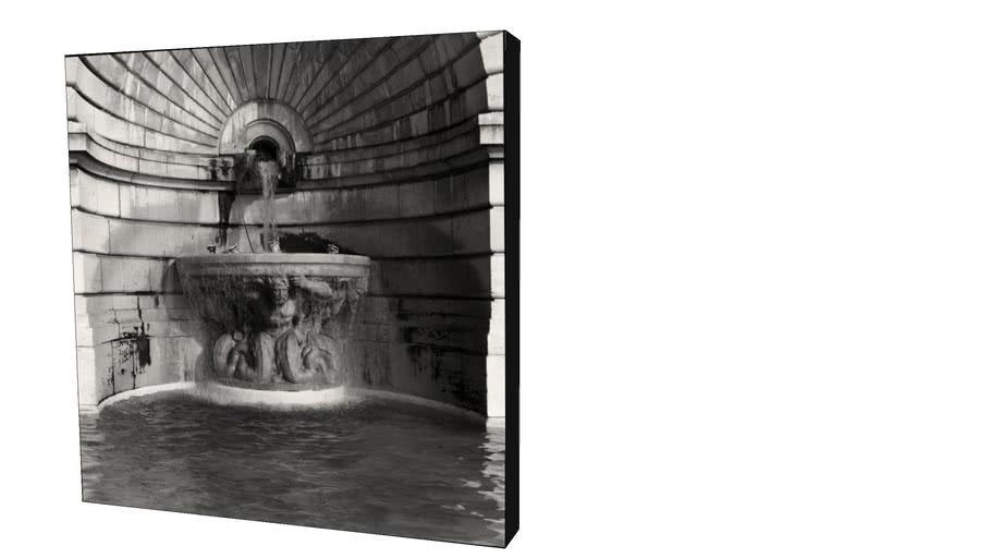 Quadro Dorival Moreira - Coleção Paris: Fontaine