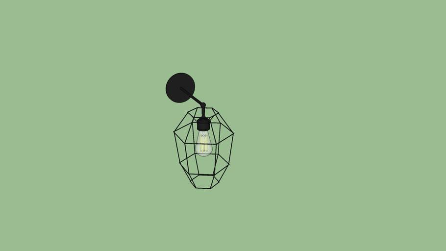 Lámpara empotrada retro