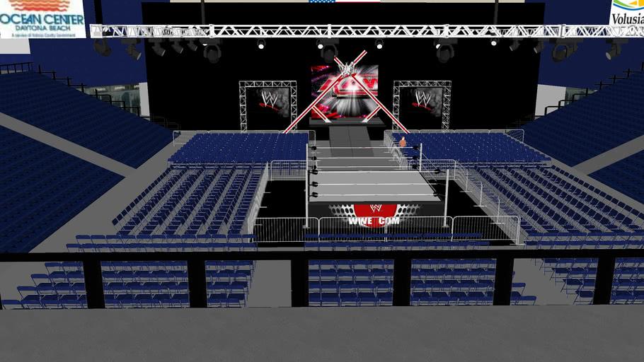 WWE RAW HOUSE SHOW in Daytona Beach Ocean Center