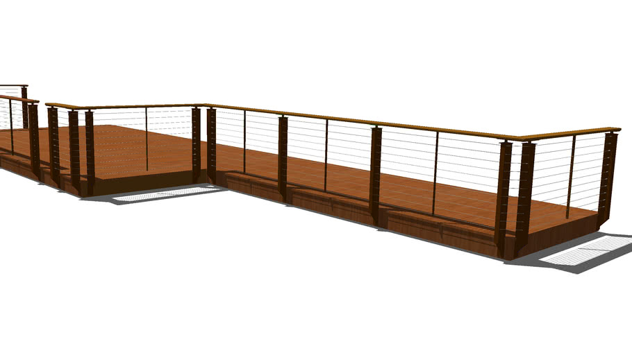 Prairie Style  - Cable Railing System
