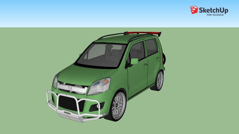 suzuki karimun wagon R offroad modifed