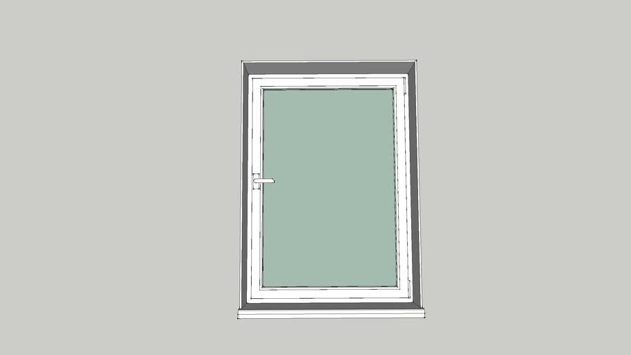 окно металлопластиковое 1000/1400