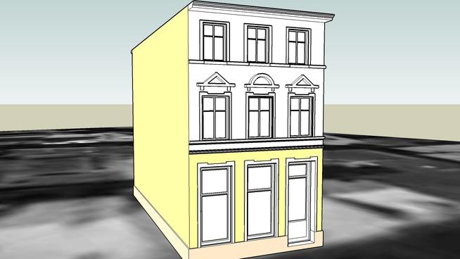 TENEMENT HOUSE ON 22 JEZUICKA STREET IN BYDGOSZCZ